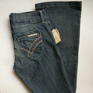 NWT William Rast Winona Flare Mockingbird Jeans